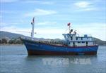 Quảng Ngãi bàn giao tàu cá composite đầu tiên cho ngư dân