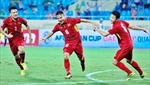 Đội tuyển Việt Nam tăng 9 bậc trên Bảng xếp hạng FIFA