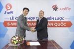 S-wifi và Waffle Hàn Quốc ký kết hợp tác phát triển Social Wifi Marketing