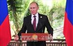 Tổng thống Putin khẳng định Nga muốn xây dựng quan hệ hài hòa với Mỹ
