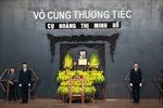Tổ chức trang trọng lễ tang cụ Hoàng Thị Minh Hồ