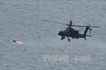 Lục quân Hàn Quốc diễn tập bắn đạn thật
