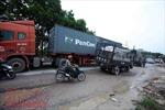 Xác minh phản ánh tình trạng xe quá tải ngang nhiên hoạt động tại Ba Vì, Hà Nội