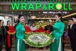 Wrap & Roll khai trương cửa hàng nhượng quyền thứ 2 tại Thượng Hải