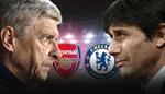 HLV Wenger và Conte quyết chiến tại Cúp liên đoàn Anh