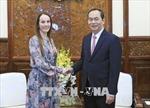 Chủ tịch nước Trần Đại Quang tiếp Chủ tịch Liên minh Nghị viện thế giới