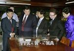 Chủ tịch Quốc hội Mông Cổ kết thúc chuyến thăm chính thức Việt Nam
