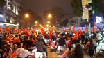 Mừng chiến thắng U23 Việt Nam, người Hà Nội có một đêm không ngủ
