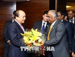 Thủ tướng Nguyễn Xuân Phúc tiếp các tập đoàn, doanh nghiệp hàng đầu Ấn Độ