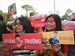 Người hâm mộ thất vọng vì không xin được chữ ký tuyển thủ U23 Việt Nam