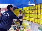 Trò chơi ăn tiền hoạt động công khai tại chợ Viềng
