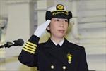 Nhật Bản lần đầu có nữ chỉ huy hạm đội tàu chiến