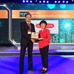 Dai-ichi Life đạt Top 4 'Nơi làm việc tốt nhất ngành bảo hiểm Việt Nam'