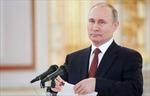 Tổng thống Nga thu nhập bao nhiêu trong năm 2017?