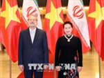 Chủ tịch Quốc hội Nguyễn Thị Kim Ngân đón, hội đàm với Chủ tịch Quốc hội nước Cộng hòa Hồi giáo Iran
