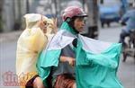 TP Hồ Chí Minh xuất hiện mưa rào, người dân không kịp trở tay