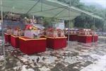 Tổ chức lễ truy điệu, an táng 98 hài cốt liệt sĩ hy sinh tại Lào