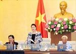 Bế mạc Phiên họp thứ 24 Ủy ban Thường vụ Quốc hội