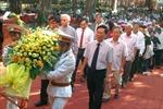 Phú Yên dâng hương tưởng nhớ Chủ tịch Hồ Chí Minh
