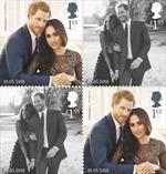 Bức ảnh nào được sử dụng trong bộ tem đặc biệt chào mừng đám cưới Hoàng gia Anh?