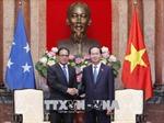 Chủ tịch nước Trần Đại Quang tiếp Chủ tịch Quốc hội Liên bang Micronesia
