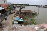 Lại xuất hiện sạt lở ở quận Ô Môn, Cần Thơ
