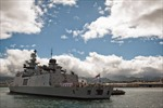 Tàu Trung Quốc theo đuôi chiến hạm Ấn Độ trên đường dự tập trận chung với Mỹ