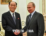 Tổng thống V.Putin mời nhà lãnh đạo Triều Tiên thăm Nga vào tháng 9