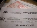Giảm án cho hai bị cáo mua bán giấy khám sức khỏe giả
