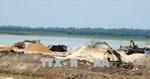 Phức tạp hoạt động khai thác cát trái phép trong lòng hồ Dầu Tiếng