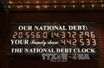 Nợ công của Mỹ lên mức cao nhất trong gần 70 năm