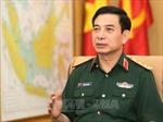 Tổng Tham mưu trưởng Quân đội nhân dân Việt Nam tiếp Tư lệnh Không quân Hoàng gia Thái Lan