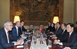Thủ tướng Bỉ ủng hộ việc sớm ký kết Hiệp định EVFTA giữa Việt Nam và EU