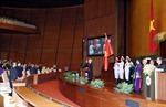 Tân Chủ tịch nước: Sẽ làm hết sức mình đáp lại tình cảm của Quốc hội, nhân dân