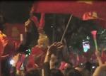 Tôn Ngộ Không xuất hiện trên phố tham gia ăn mừng chiến thắng của đội tuyển bóng đá Việt Nam