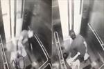 Tên cướp đánh đập dã man người phụ nữ trong thang máy rồi cướp túi