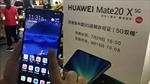 Smartphone gập Mate X của Huawei 'cháy hàng'trong ngày mở bán