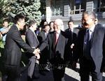 Tổng Bí thư Nguyễn Phú Trọng thăm Đại sứ quán Việt Nam tại Hungary