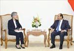 Thủ tướng Chính phủ Nguyễn Xuân Phúc tiếp Bộ trưởng Ngoại giao Hàn Quốc