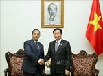 Phó Thủ tướng Vương Đình Huệ tiếp Bộ trưởng Kinh tế Bulgaria