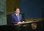 Thủ tướng Nhật Bản, Tổng thư ký Antonio Guterres nhất trí thúc đẩy cải cách LHQ
