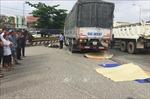 Ô tô tải tông mạnh rồi cán qua xe máy, 2 phụ nữ tử vong tại chỗ
