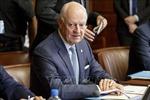 Đặc phái viên LHQ về Syria Staffan de Mistura thông báo từ chức