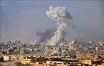 Nga cáo buộc Mỹ ném bom phốt-pho xuống bờ Đông sông Euphrates