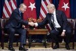 Điện đàm Donald Trump - Tayyip Erdogan về Syria