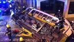 Tàu hỏa trật khỏi đường ray, ít nhất 28 người bị thương