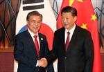Trung - Hàn nhất trí tăng cường hợp tác quốc phòng song phương