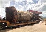 Xử phạt 12,5 triệu đồng vụ chở cây đa 'siêu khủng' trên Quốc lộ 19