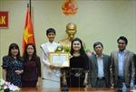Đắk Lắk khen thưởng Top 5 Hoa hậu Hoàn vũ thế giới H'Hen Niê