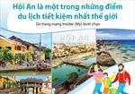 Hội An lọt Top những điểm du lịch tiết kiệm nhất thế giới